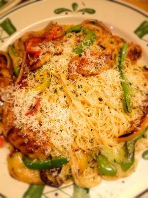 Olive Garden Chicken Scampi Recipe At Vitaille